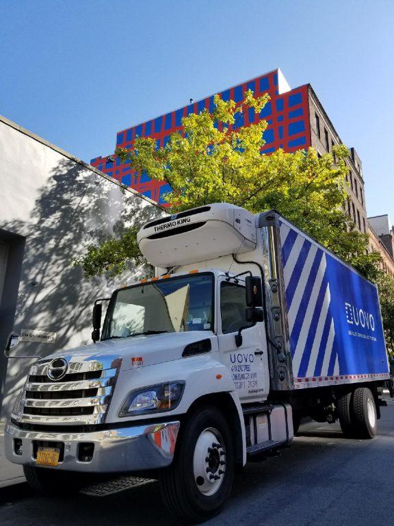 UOVO Truck in Chelsea