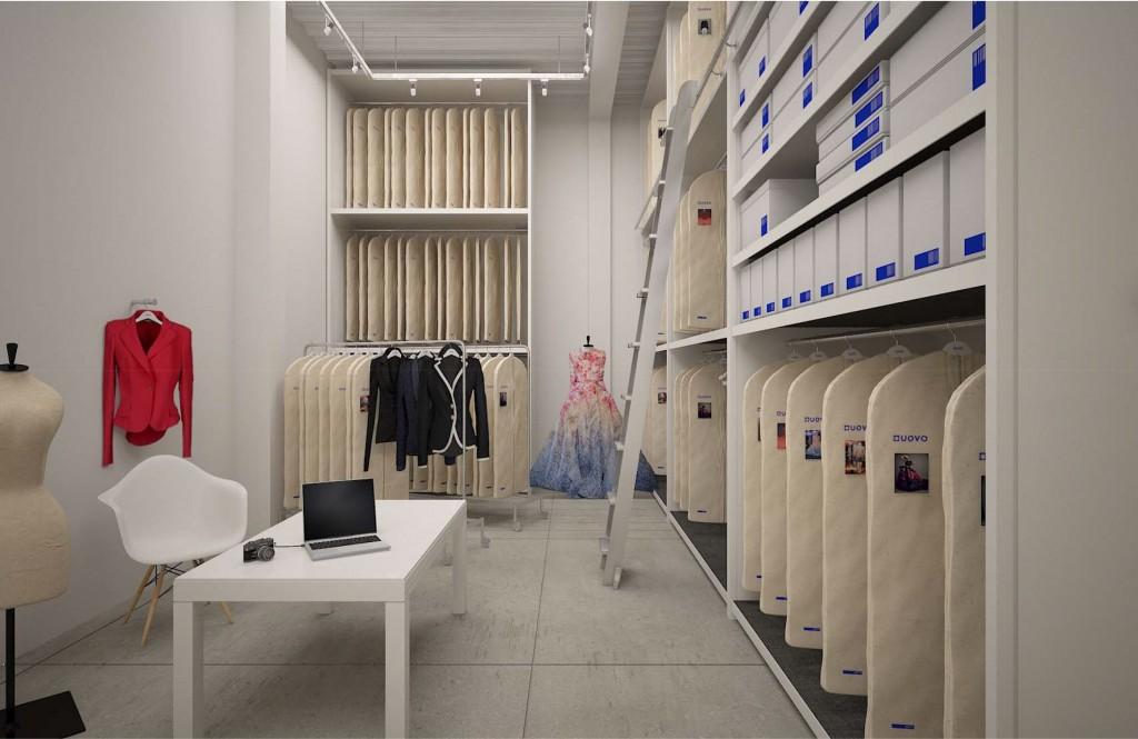 Couture Fashion Storage at UOVO
