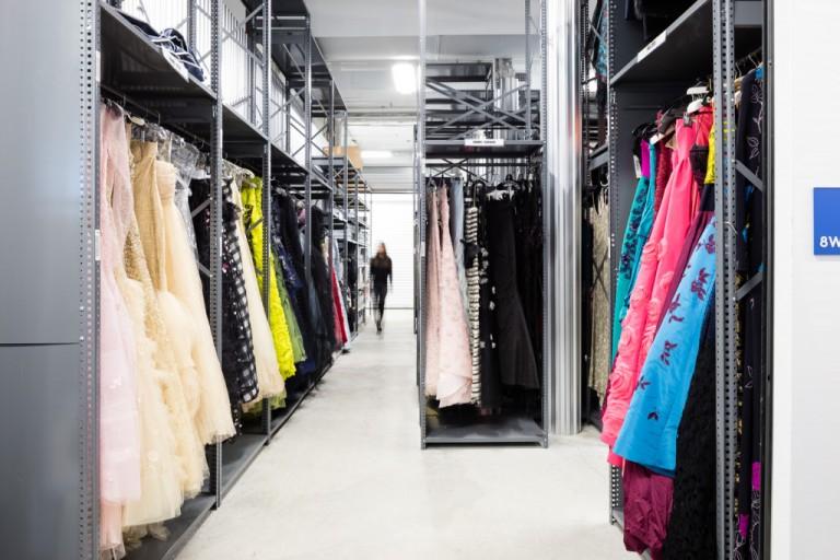 High End Fashion Storage at UOVO