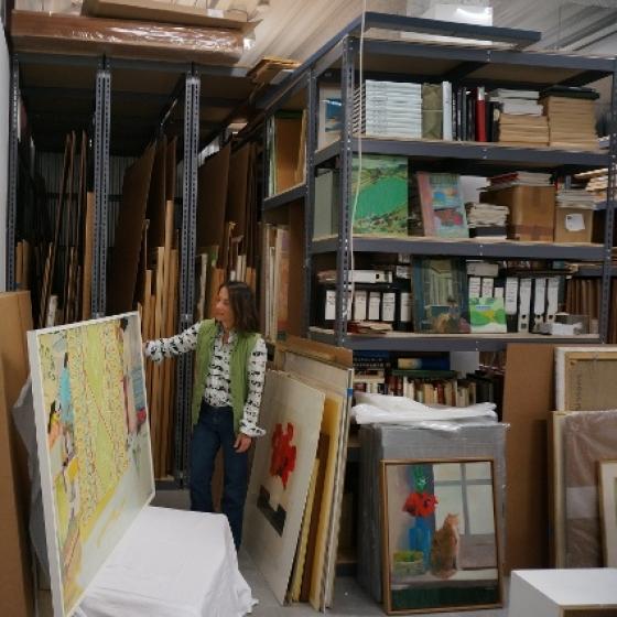 Art Storage Unit at UOVO