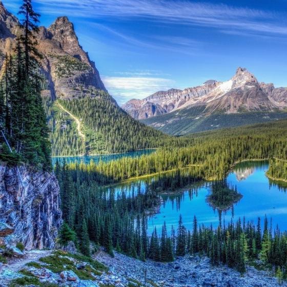 Aspen National Park Landscape Photograph